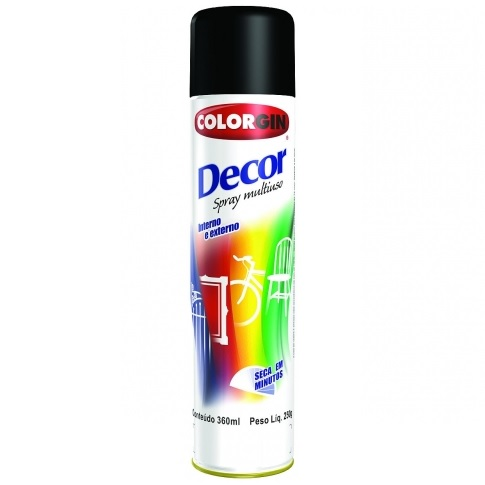 COLORGIN DECOR SPRAY - ALUMINIO 500