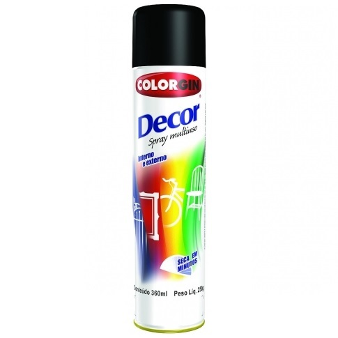 COLORGIN DECOR SPRAY - AZUL ANGRA METALICO