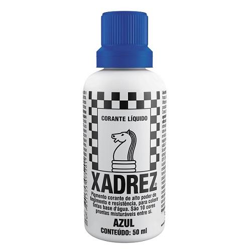 CORANTE XADREZ AZUL 50ML PT-12