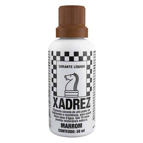 CORANTE XADREZ MARROM 50ML PT-12