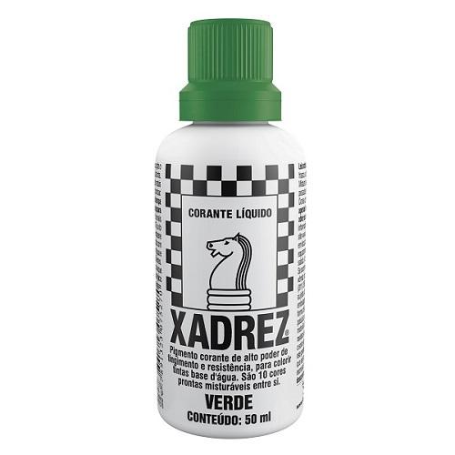 CORANTE XADREZ VERDE 50ML PT-12