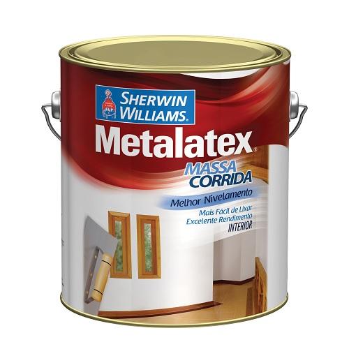 METALATEX MASSA PVA BRANCA - GALAO 3,6 LTS