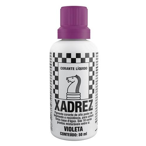 CORANTE XADREZ VIOLETA 50ML PT-12