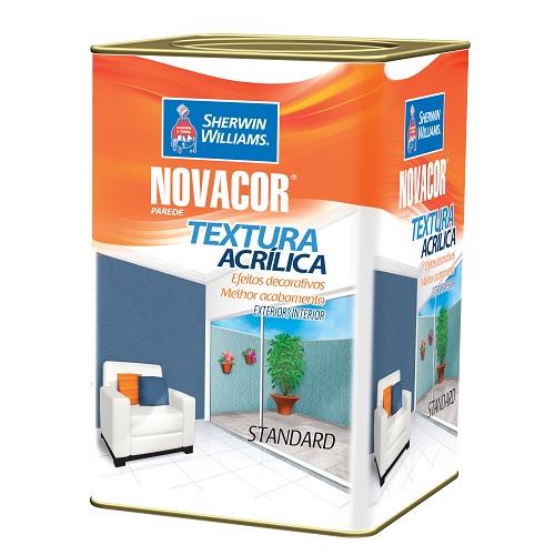 NOVACOR TEXTURA RUSTICA BRANCA - LATA 18 LITROS