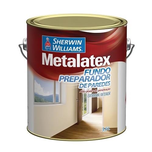 METALATEX FUNDO PREPARADOR DE PAREDE PRONTO P/ USO - GALAO 3,6 LTS