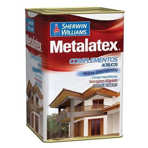 METALATEX MASSA ACRILICA BRANCA - LATA 18 LITROS