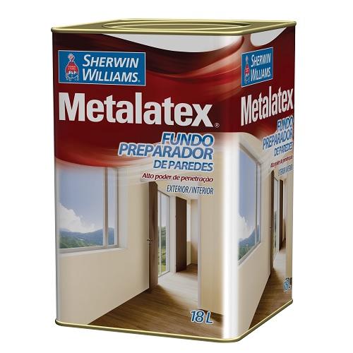 METALATEX FUNDO PREPARADOR DE PAREDE PRONTO P/ USO - LATA 18 LTS