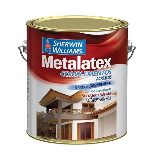 METALATEX MASSA ACRILICA BRANCA - GALAO 3,6 LTS