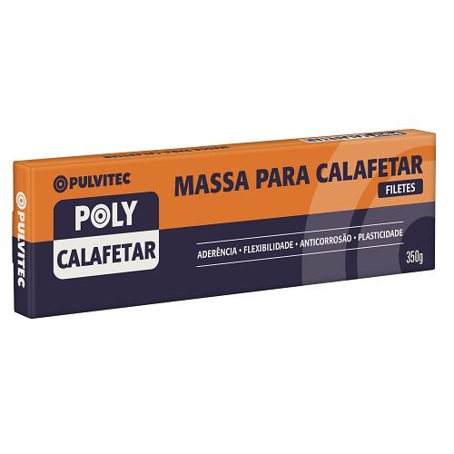 MASSA CALAFETAR 350GR CINZA - PULVITEC