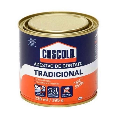 COLA DE CONTATO S/ TOLUOL 195GR CASCOLA - HENKEL