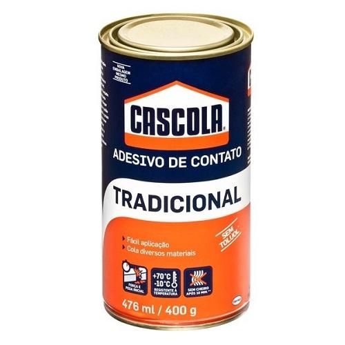 COLA DE CONTATO S/ TOLUOL 400GR CASCOLA - HENKEL