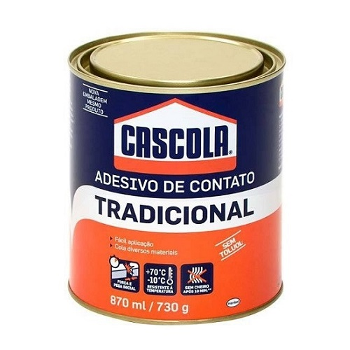 COLA DE CONTATO S/ TOLUOL 730GR CASCOLA - HENKEL