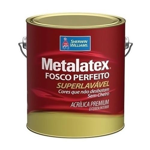 COLOR METALATEX ACRILICO FOSCO - BASE VY - GALAO 3,2 LTS