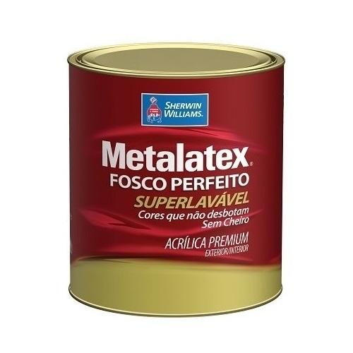 COLOR METALATEX ACRILICO FOSCO - BASE LY - QUARTO 0,800 ML