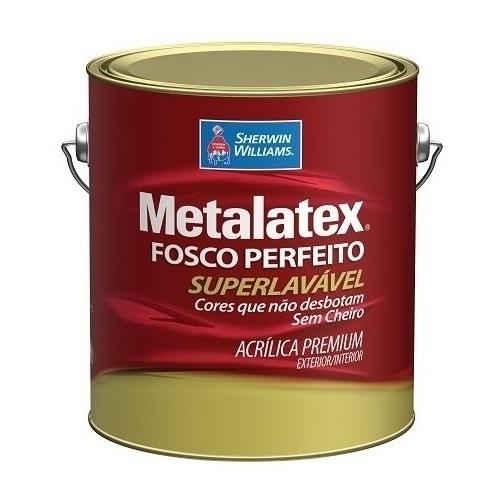 COLOR METALATEX ACRILICO FOSCO - BASE LY - GALAO 3,2 LTS
