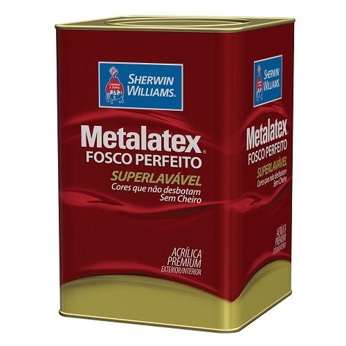 COLOR METALATEX ACRILICO FOSCO - BASE LY - LATA 16 LTS