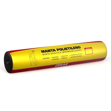 MANTA ASFALTICA POLIETILENO 3MMX10MT - CIPLAK