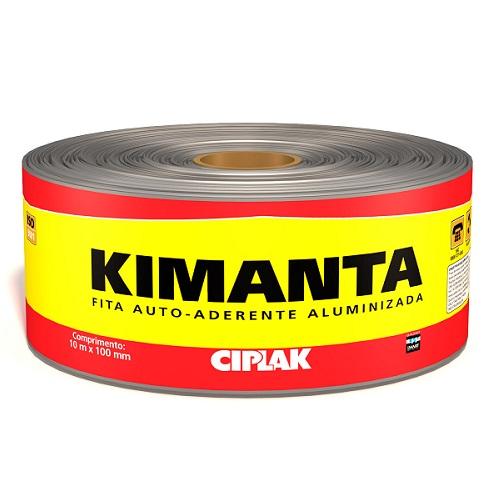 KIMANTA (MANTA AUTOADERENTE) 10MTX10CM FITA ALUMINIZADA - CIPLAK