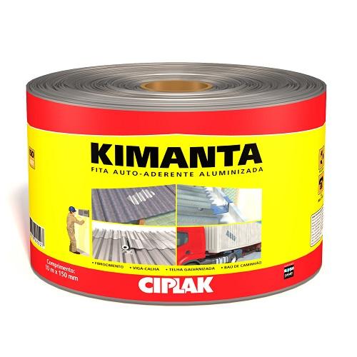 KIMANTA (MANTA AUTOADERENTE) 10MTX20CM FITA ALUMINIZADA - CIPLAK