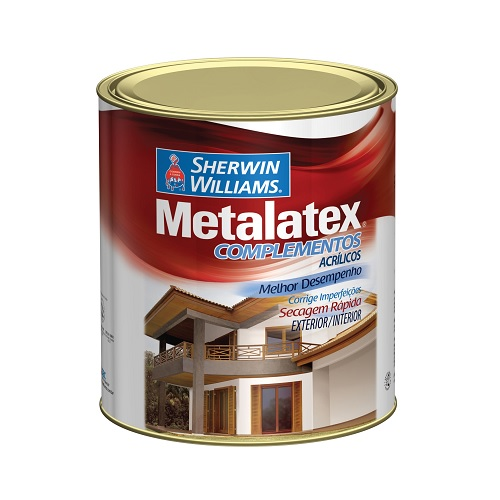 METALATEX MASSA ACRILICA BRANCA - QUARTO 0,900 ML