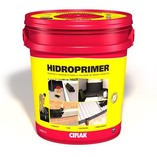 HIDROPRIMER P/ MANTA ASFALTICA BALDE PLASTICO 18 LTS - CIPLAK