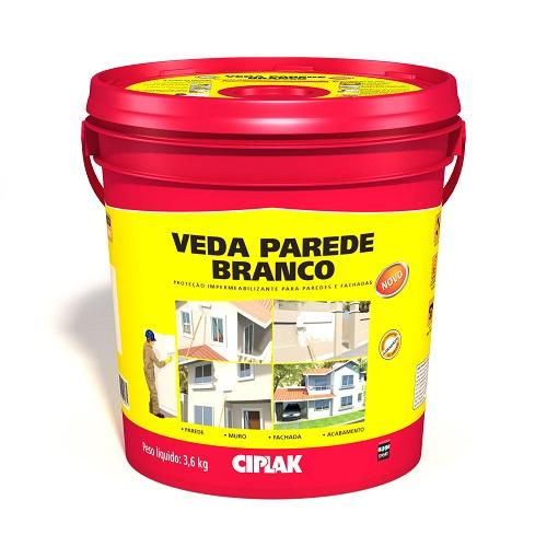 VEDA PAREDE BRANCO GALAO 3,6 LTS - CIPLAK