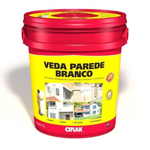 VEDA PAREDE BRANCO BALDE PLASTICO 18 LTS - CIPLAK