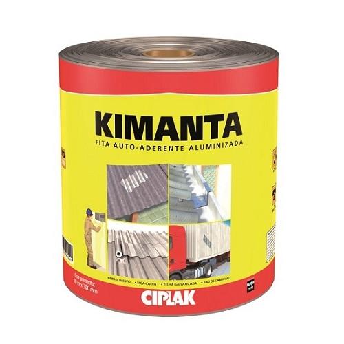 KIMANTA (MANTA AUTOADERENTE) 10MTX30CM FITA ALUMINIZADA - CIPLAK