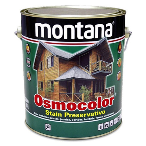OSMOCOLOR STAIN PRESERVATIVO IMBUIA 0,900L - MONTANA