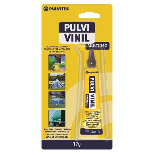 COLA DE CONTATO 17GR P/ PVC PULVI VINIL - PULVITEC