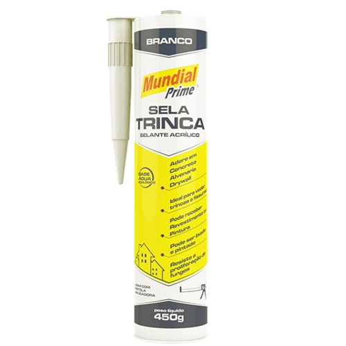 SELA TRINCA 450GR BRANCO - MUNDIAL PRIME