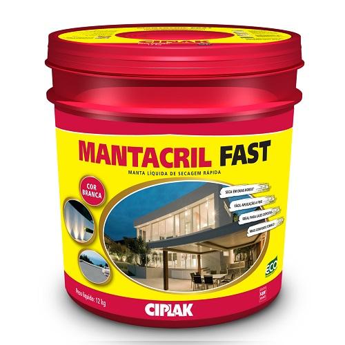 MANTACRIL FAST MANTA LIQUIDA BALDE PLASTICO 12 LTS - CIPLAK