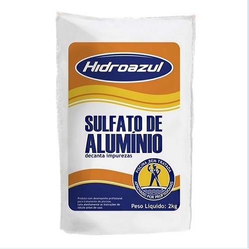 SULFATO DE ALUMINIO PT 2KG - HIDROAZUL