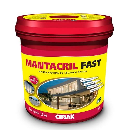 MANTACRIL FAST MANTA LIQUIDA GALAO 3,6 LTS - CIPLAK