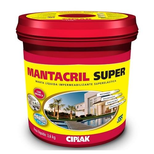 MANTACRIL SUPER MANTA LIQUIDA GALAO 3,6 LTS - CIPLAK