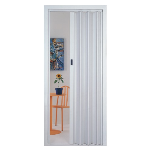 PORTA SANFONADA PVC 60CM BRANCA PLASFLEX - MULTILIT