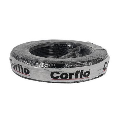 CABO FLEXIVEL 10 MM 750V ROLO 100M PRETO - CORFIO