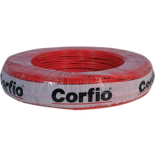 CABO FLEXIVEL 2,50 MM 750V ROLO 100M VERMELHO - CORFIO
