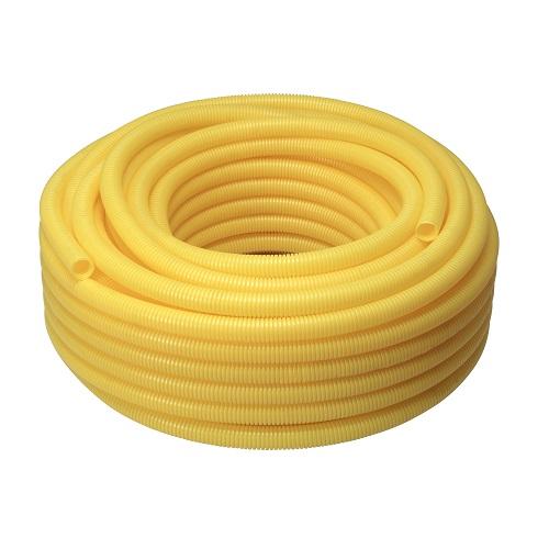 ELETRODUTO CONDUITE CORRUGADO 20MM PVC AMARELO 50MT - KRONA