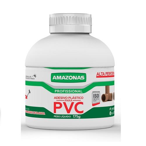 ADESIVO PARA PVC 175GR COM PINCEL APLICADOR - AMAZONAS