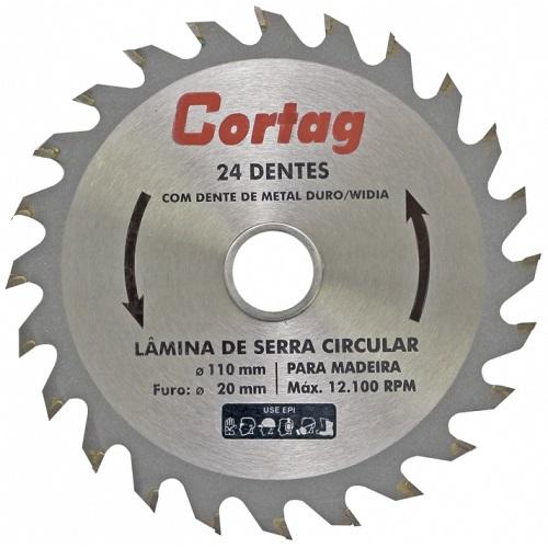 DISCO P/ SERRA CIRCULAR COM WIDEA 4.3/8