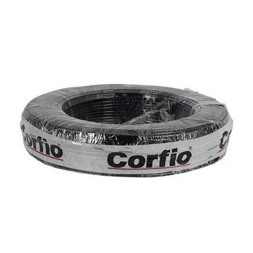 CABO FLEXIVEL 16 MM 750V ROLO 100M PRETO - CORFIO
