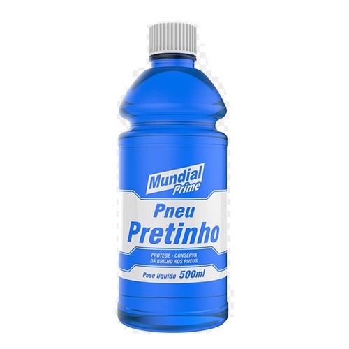 LIMPA PNEUS PRETINHO AUTOMOTIVO 500ML LIQUIDO - MUNDIAL PRIME