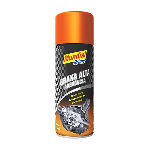 GRAXA ALTA ADERENCIA P/ TEMPERAT. ELEVADAS SPRAY 200ML - MUNDIAL PRIME