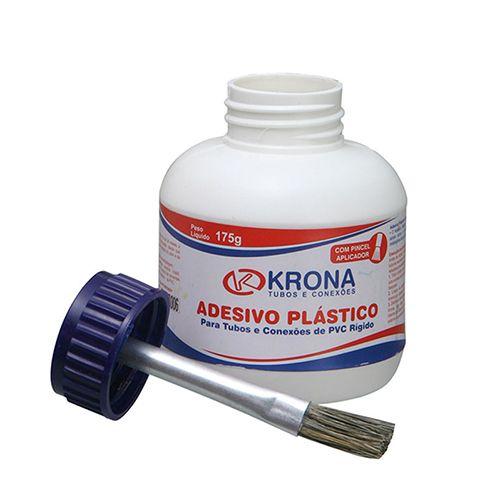 ADESIVO PARA PVC 175GR COM PINCEL APLICADOR - KRONA