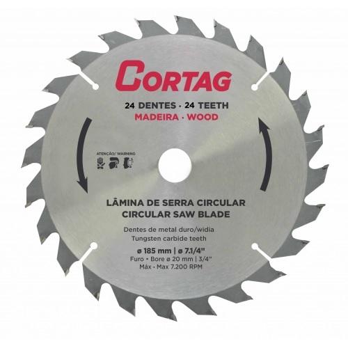 DISCO P/ SERRA CIRCULAR COM WIDEA 7.1/4