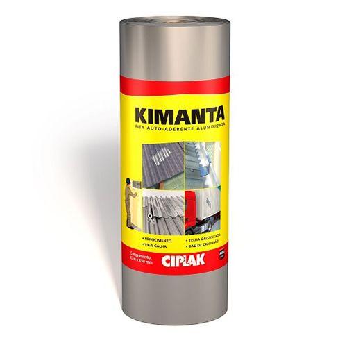 KIMANTA (MANTA AUTOADERENTE) 10MTX50CM FITA ALUMINIZADA - CIPLAK