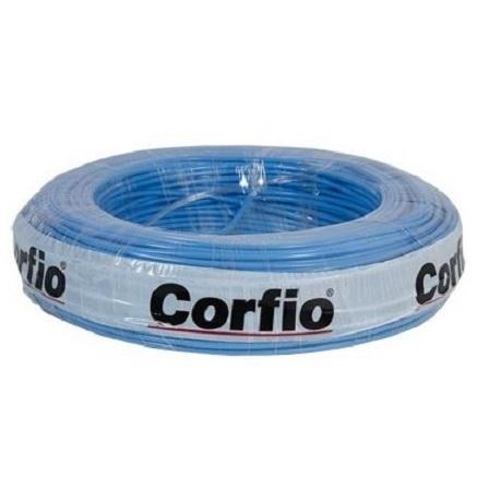 CABO FLEXIVEL 10,00 MM 750V ROLO C/900M AZUL - CORFIO