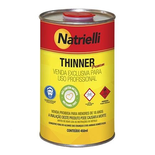 THINNER COMUM 450ML 8116 - NATRIELLI