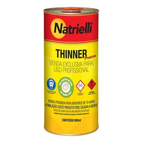 THINNER COMUM 900ML 8116 - NATRIELLI